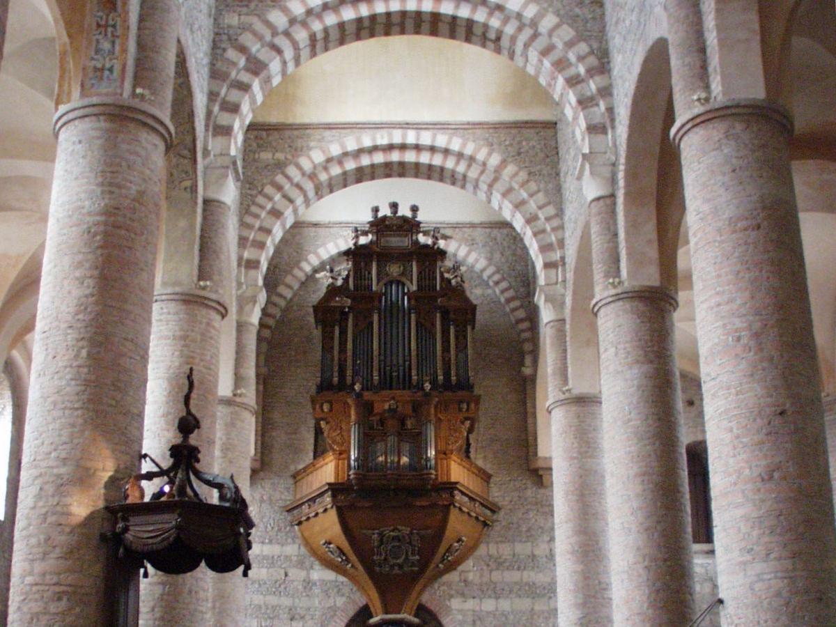 Les orgues de Saint Philibert